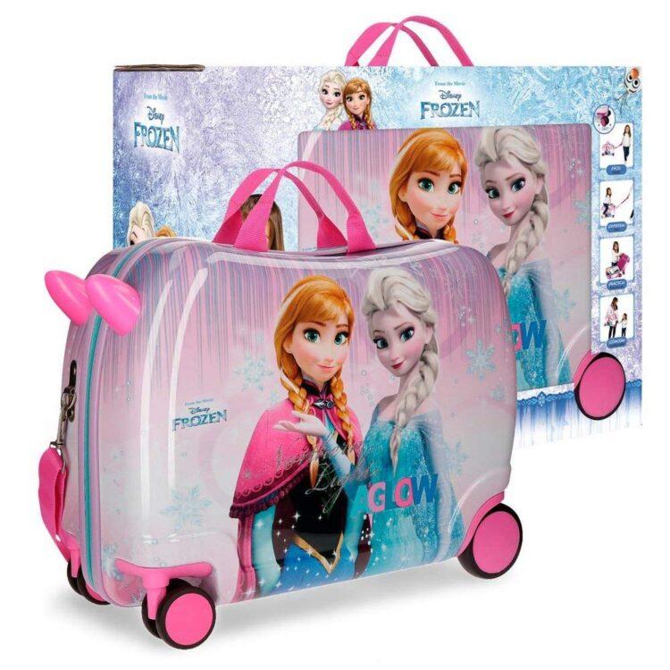 Trolley cavalcabile Disney Frozen viaggio e tempo libero