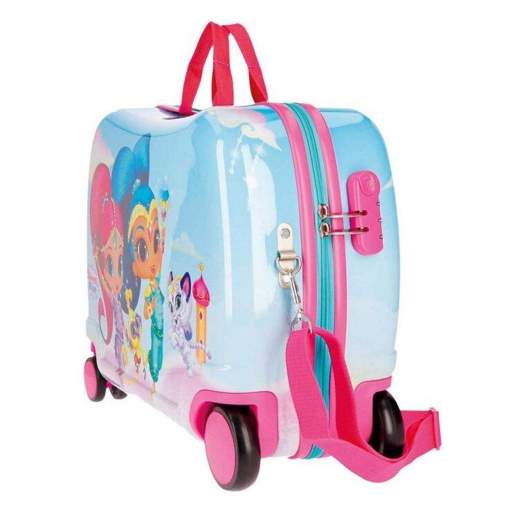 Trolley cavalcabile Shimmer and Shine Joy viaggio
