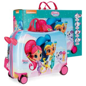 Trolley cavalcabile Shimmer and Shine Joy viaggio
