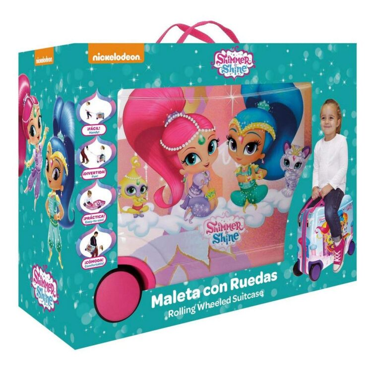 "Trolley cavalcabile Shimmer and Shine ""Pets"" viaggio"