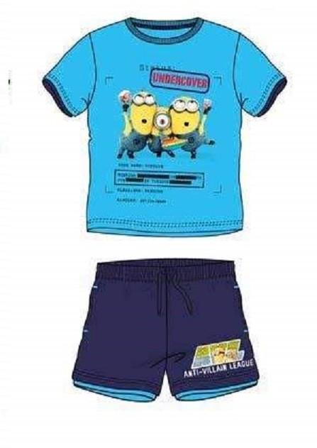 completo t-shirt e pantaloncino MINIONS
