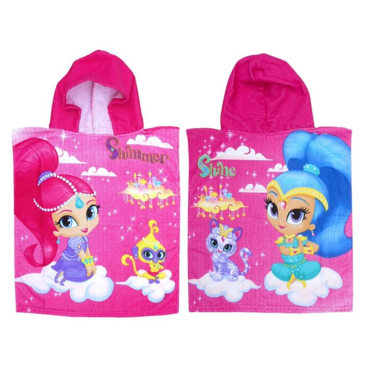 accappatoio poncho SHIMMER AND SHINE