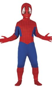 maschera costume SPIDERMAN