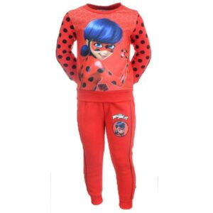 ladybug miracolous - tuta da ginnastica