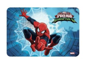 tovaglietta spiderman in plastica ripiegabile