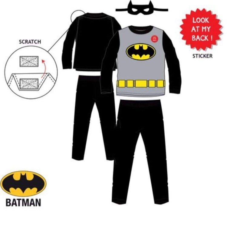 batman pigiama in cotone