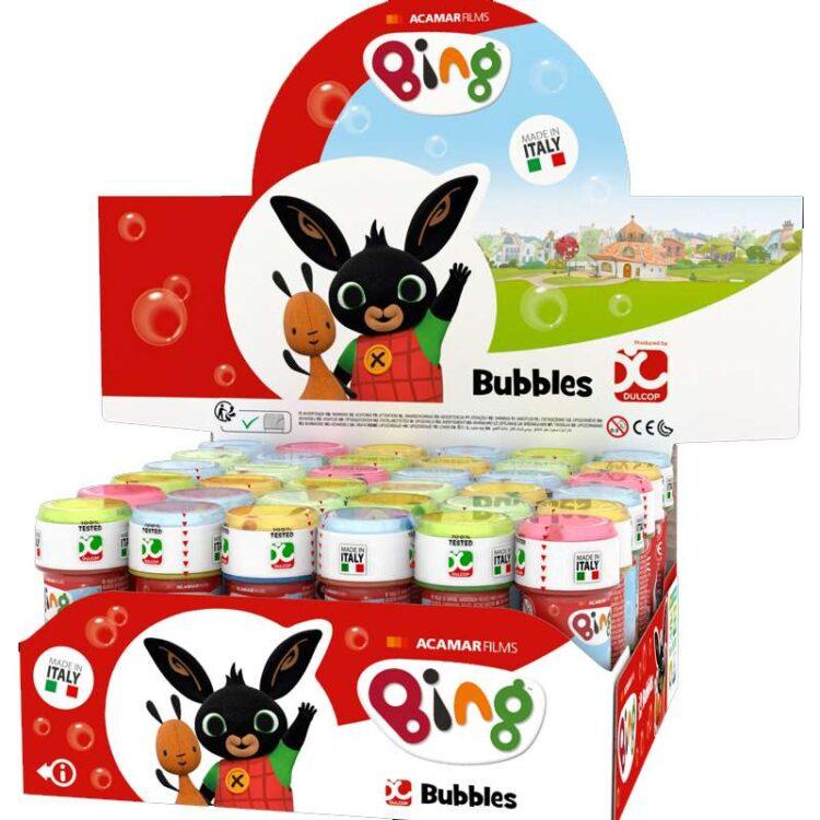 bolle di sapone coniglietto bing