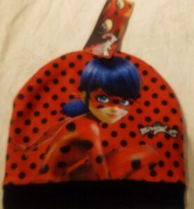 cappello cuffia miracolous ladybug