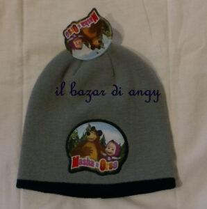 cappello masha e orso bimbo