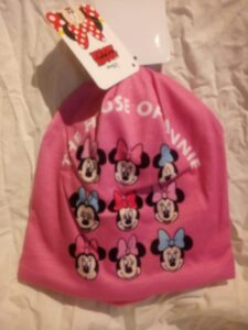 cappello disney minnie in cotone