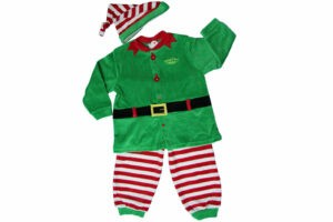 vestito elfo di babbo natale