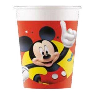 bicchieri per festa topolino club house