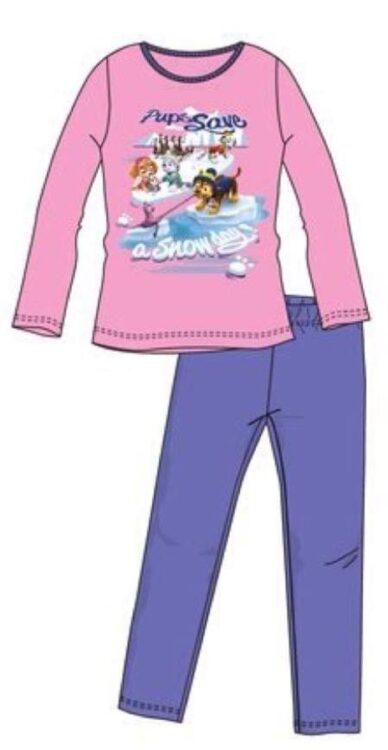 paw patrol pigiama in cotone bimba