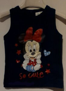 canotta t-shirt minnie baby