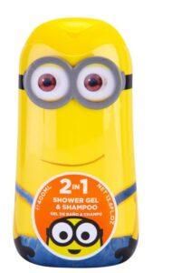 shampo e gel per doccia minions