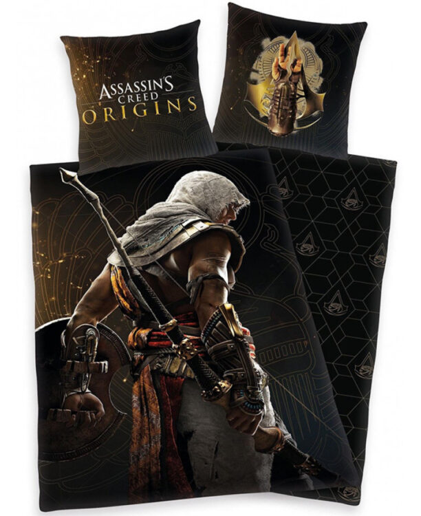Assassin's Creed Set Copripiumino E Federa Singolo Origins
