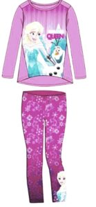 completo disney frozen con leggings