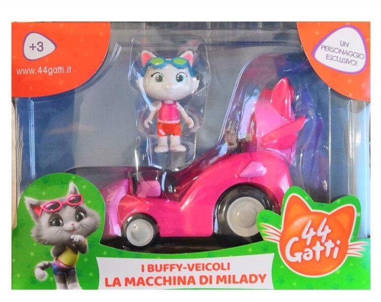 veicolo con personaggio 44 gatti