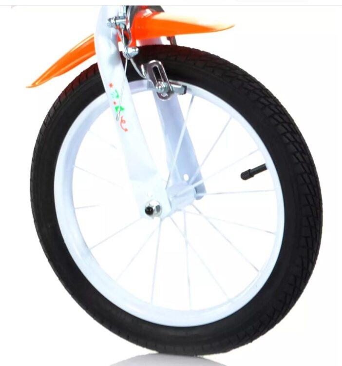 bicicletta con rotelle 44 gatti 14 pollici