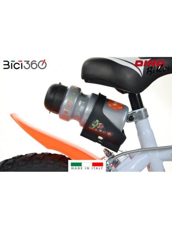 bicicletta con rotelle 44 gatti 16' pollici