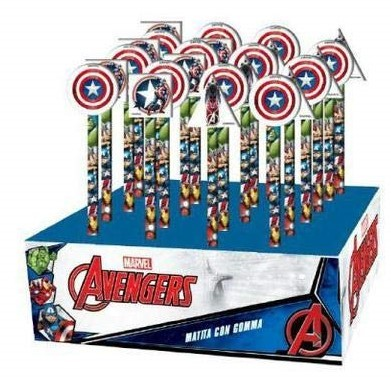 matita con gomma sagomata Avengers