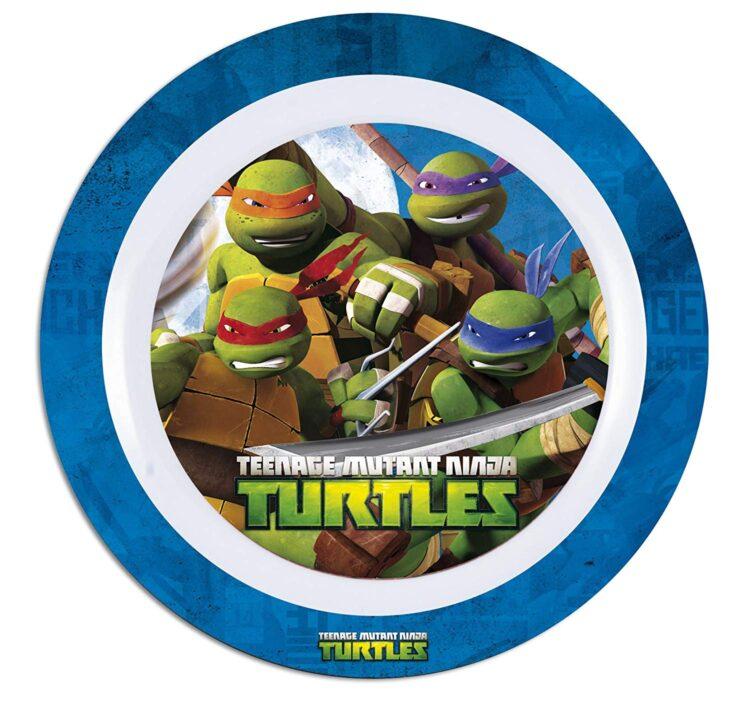 set tavola 3 pezzi tartaruga ninja