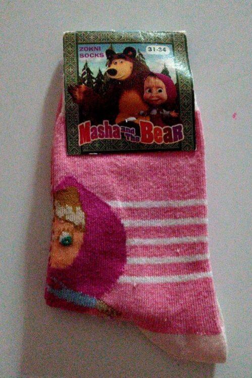 calze bambina masha e orso
