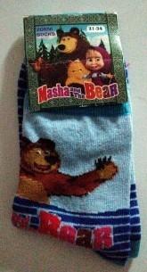 calze bambino masha e orso