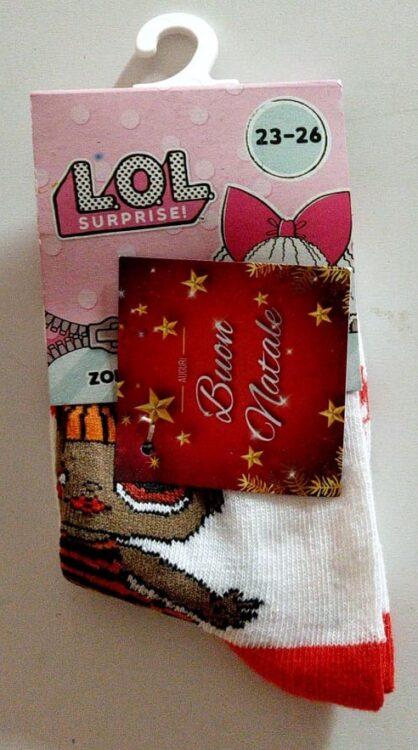 lol surprise calzini corti in caldo cotone
