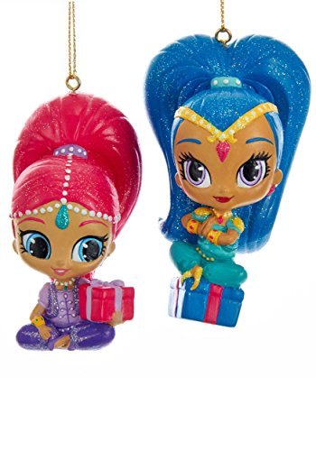2 Pack Shimmer & Shine Ornament Set Standard