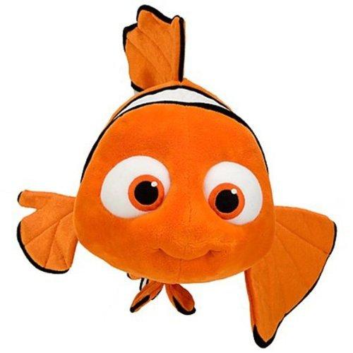 Disney Nemo Plush Toy - 16in Nemo Stuffed animal by Disney