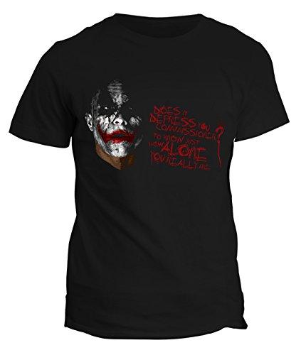 fashwork Tshirt The Dark Night Batman - Film - Movie - Joker - - in Cotone by