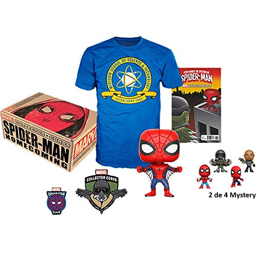 Funko - Marvel Collector Corps Box Spider-Man Homecoming M Size