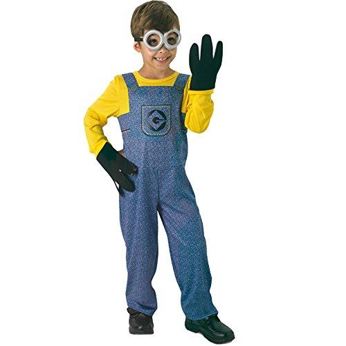 Generique - Costume Da Bambino Minion 5 A 7 Anni