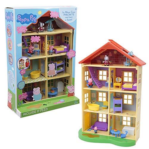 Peppa Pig Mega Casa con 3 Personaggi