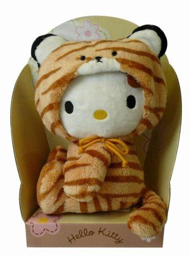 Hello Kitty Plush Figure Case Dress-Up 19 cm