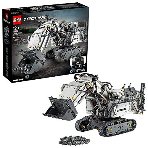 LEGO- Technic Power Functions Escavatore Liebherr R 9800