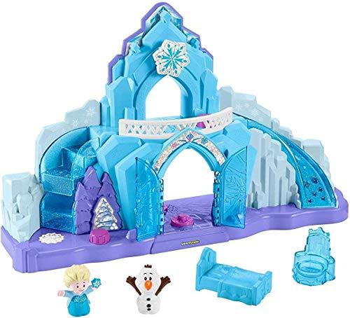 Little People GGV29 Fisher-Price Disney Frozen - Palazzo di Ghiaccio, Multicolore