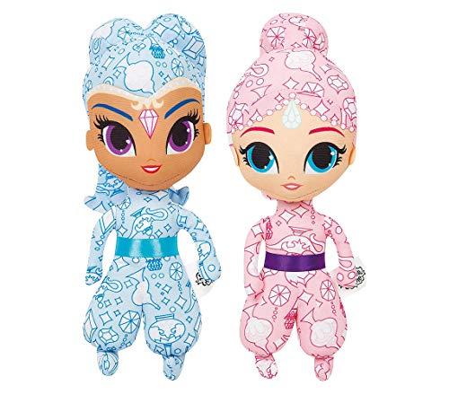 Mediawave Store Shimmer & Shine 373804 Bambole Deluxe da colorare con pennarelli Inclusi