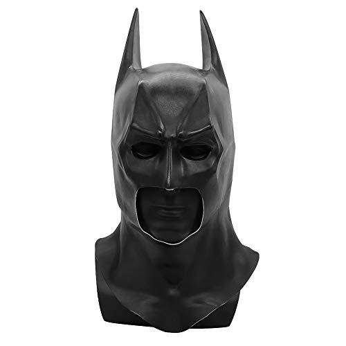 NANLAI Batman Mask Maschera in Lattice Nera per Carnevale Cosplay da Festa