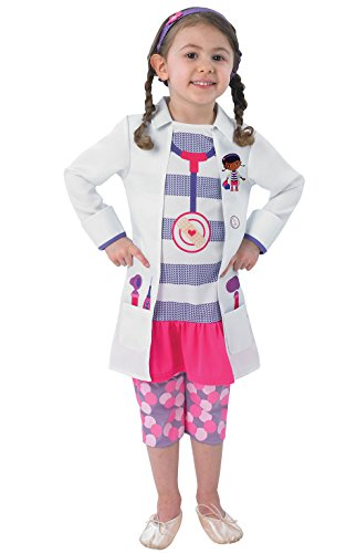 Rubie's Doc Mcstuffin - Costume Bambini - Infantile - 86 Centimetri