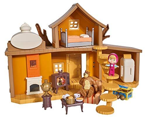 Simba Playset, La Grande Casa, Inclusi Masha E Orso Ed Accessori