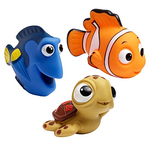 The First Years Disney Baby Bath Squirt Toys, Finding Nemo by The First Years