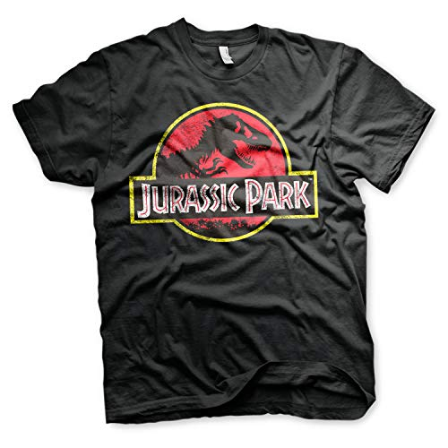 Jurassic Park T-Shirt Logo Maglia Maglietta - Ufficiale Originale (X-Large)