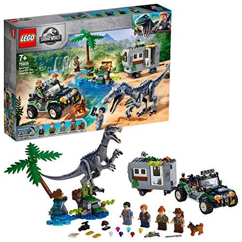 Lego Jurassic World - Faccia a Faccia con il Baryonyx: Caccia al Tesoro, 75935