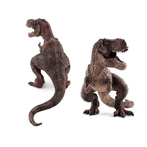 Sipobuy Dinosaur Tyrannosaurus Rex Toys, Grande statica Dinosaur Model, Regalo Ideale per Ragazzi Bambini Children, Marrone