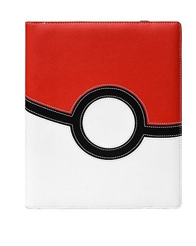 Ultra Pro Pokémon Poké Ball 9-Pocket PRO Binder Ex, Colore Rosso/Bianco (074427853167)