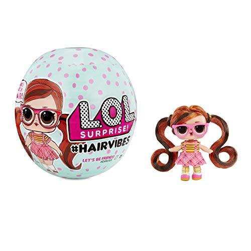 LOL Surprise - Bambole Hairvibes con 15 sorprese e Mix & Match per Capelli