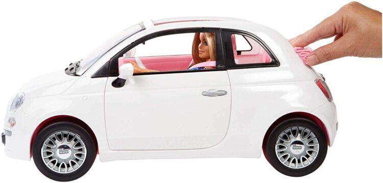 Barbie e la 500 Fiat