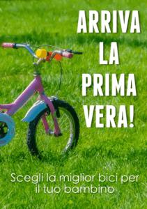 Primavera biciclette bambini
